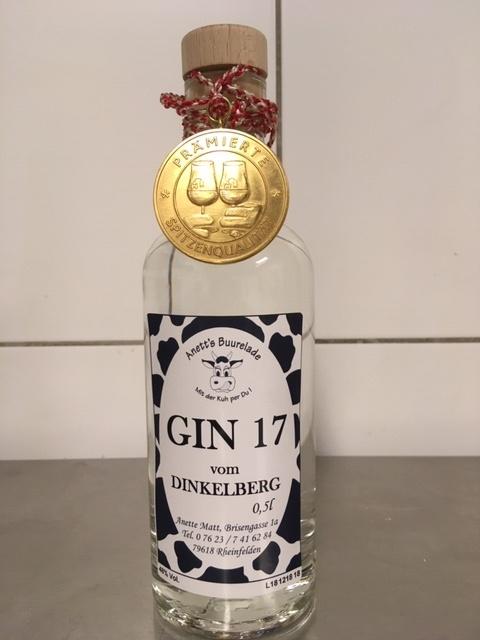 Gin 17 Anett's Buurelade Rheinfelden