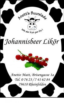 Johannisbeer-Likör