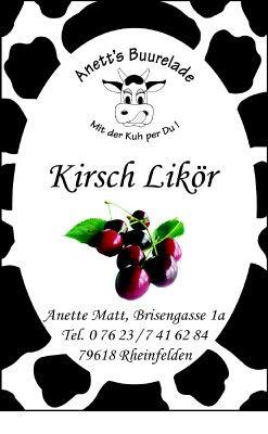 Kirsch-Likör