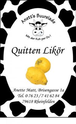 Quitten-Likör