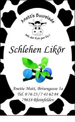 Schlehen-Likör