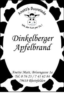 Dinkelberger Apfelbrand