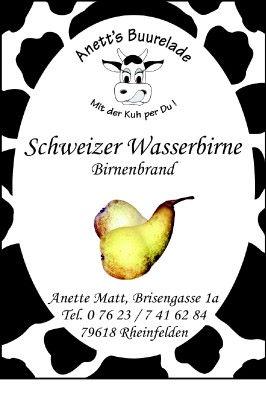 Schweizer Wasserbirne
